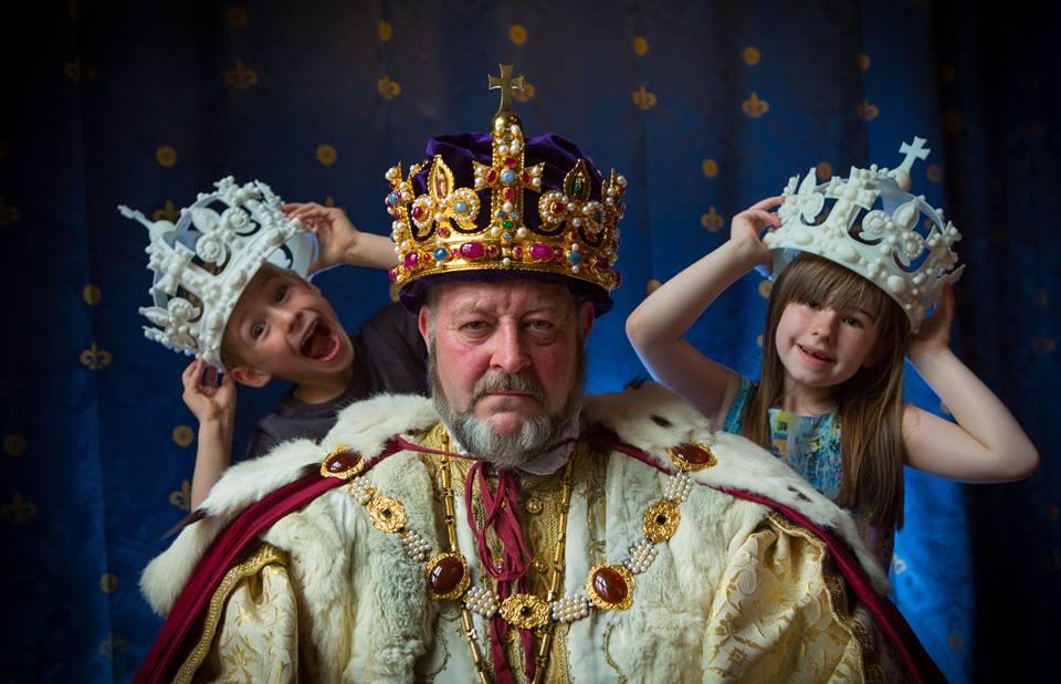Corona Enrique VIII impresión 3D