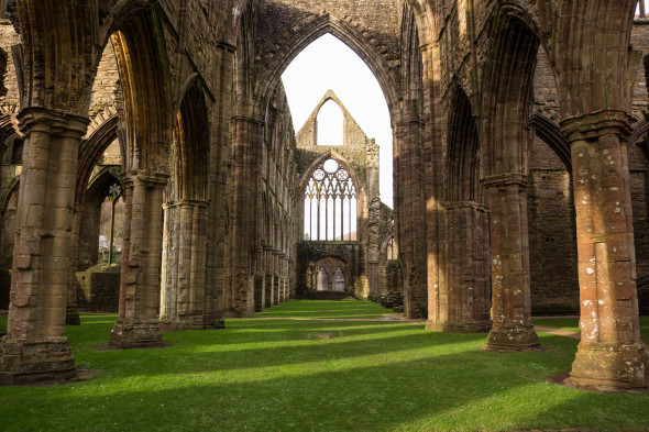 Sunday Photo: Inside the Ruins of Tintern Abbey in Wales For Your Desktop Wallpaper