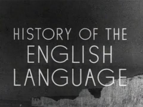 History Video: History of the English Language – World War II Propaganda Film (1943)