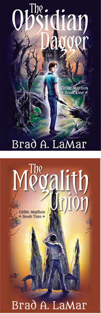 Brit Books: The Obsidian Dagger and The Megalith Union by Brad A. Lemar