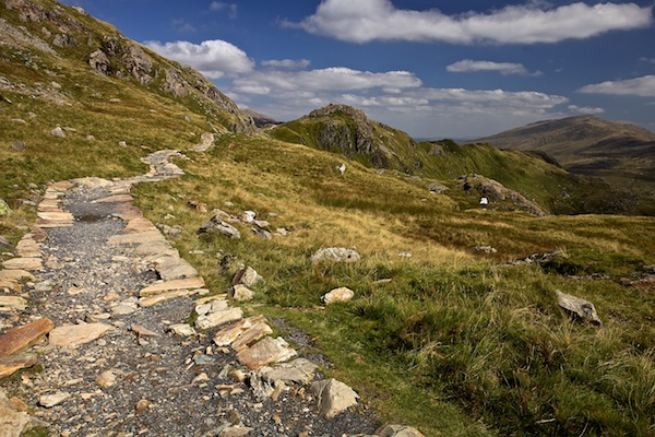 British Landscapes Photography: A Stroll on Beautiful Mount Snowdon in Wales
