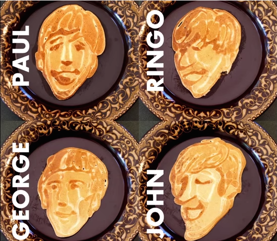 Video: Man Makes the Most Delicious Sounding Pancakes Ever – Beatles Pancakes