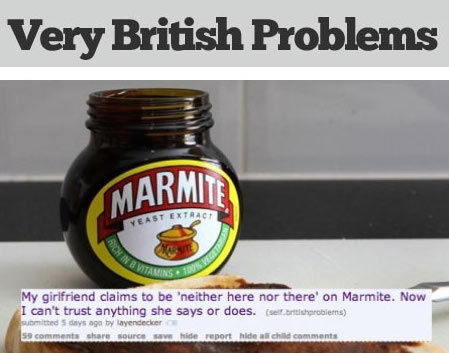Friday Humour: Some Very British Problems – Funny Graphic