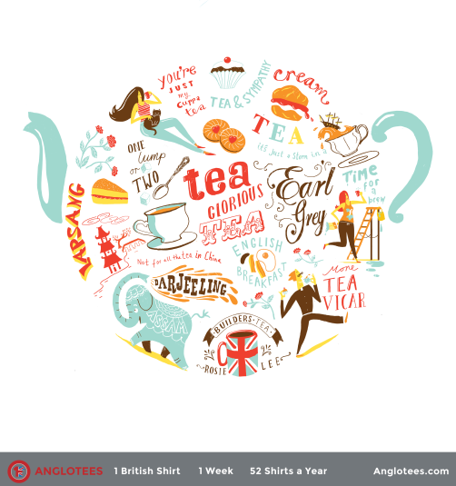 Anglotees Alert: LAST CALL! Just 24 Hours Left to Buy The World of Tea by Migy Blanco