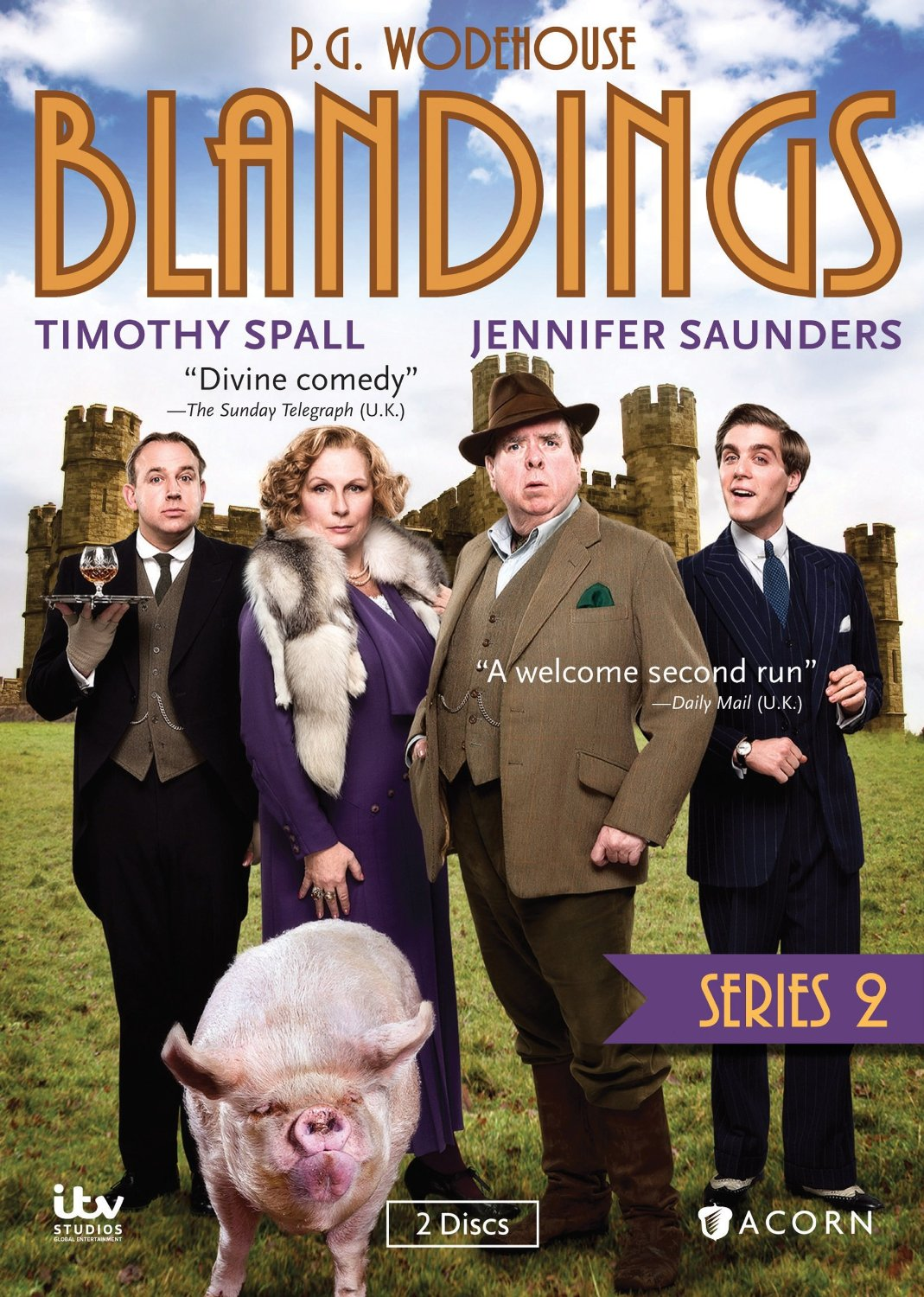 Brit DVD Reviews: Blandings, Series 2 by Acorn Media