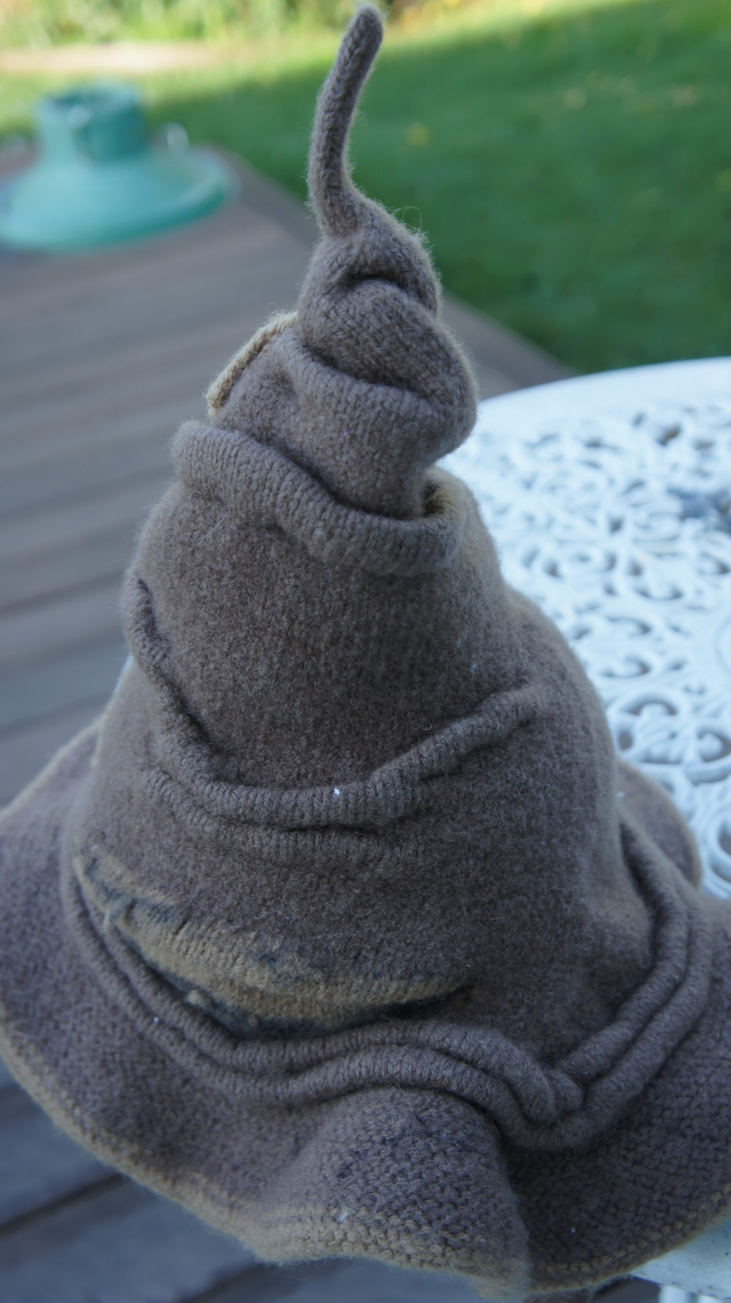 Brit Knits: Hogwarts Sorting Hat Knitting Pattern by Diane Scott