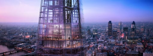 The View from The Shard - Levels 68, 69 and 72.Credit: © The View from The Shard.