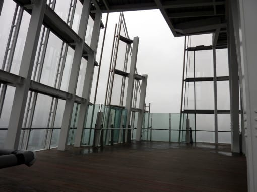 Level 72 - note the open air© Laura Porter (taken at View From The Shard)