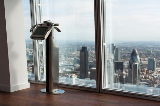 A Tell:scope in The View from The Shard.Credit: © The View from The Shard.