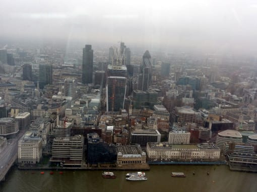 The City of London© Laura Porter (taken at View From The Shard)
