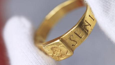 Did this very ring inspire Tolkien's novels?