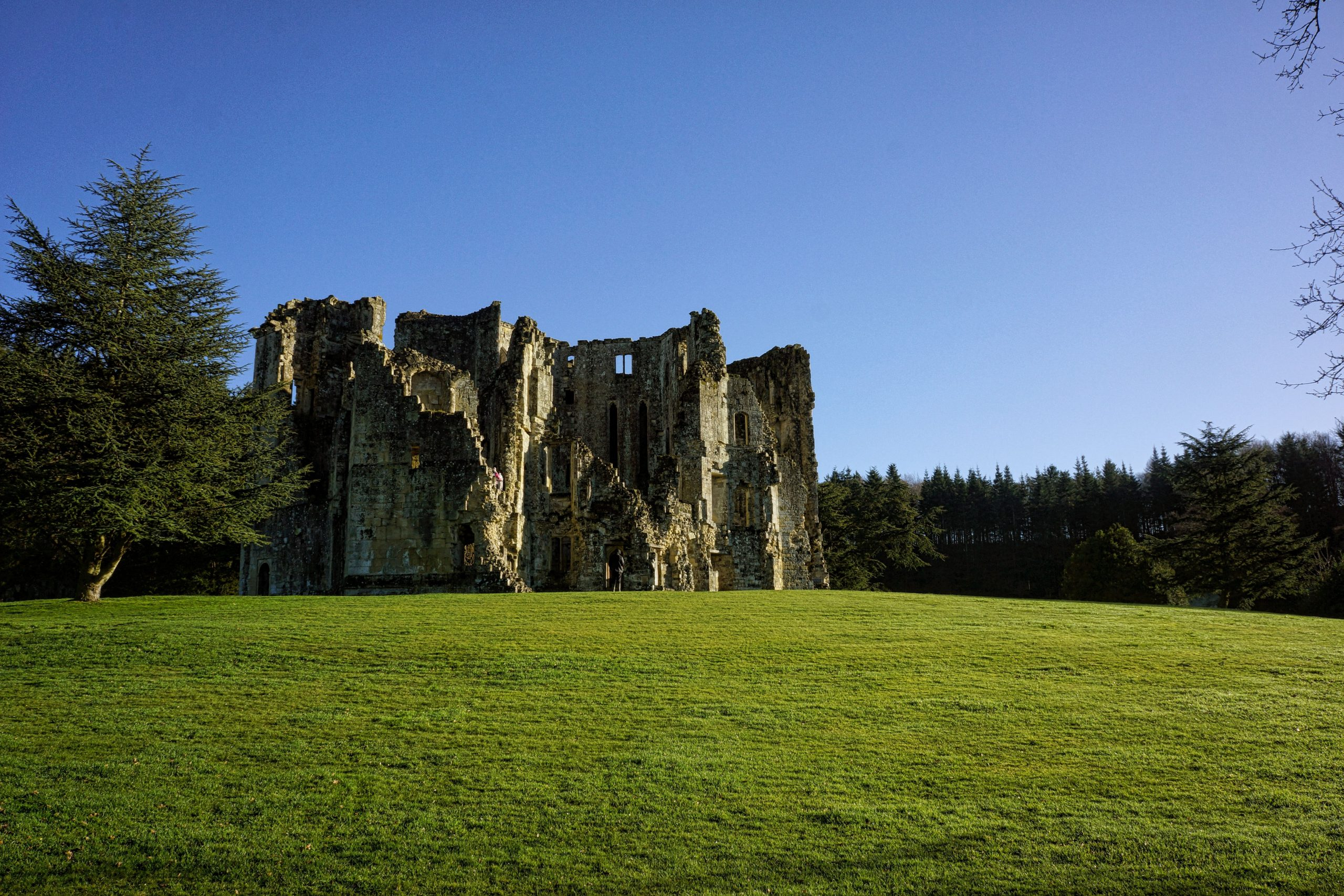sunday photo  a lovely photo of wardour castle in wiltshire for your desktop wallpaper