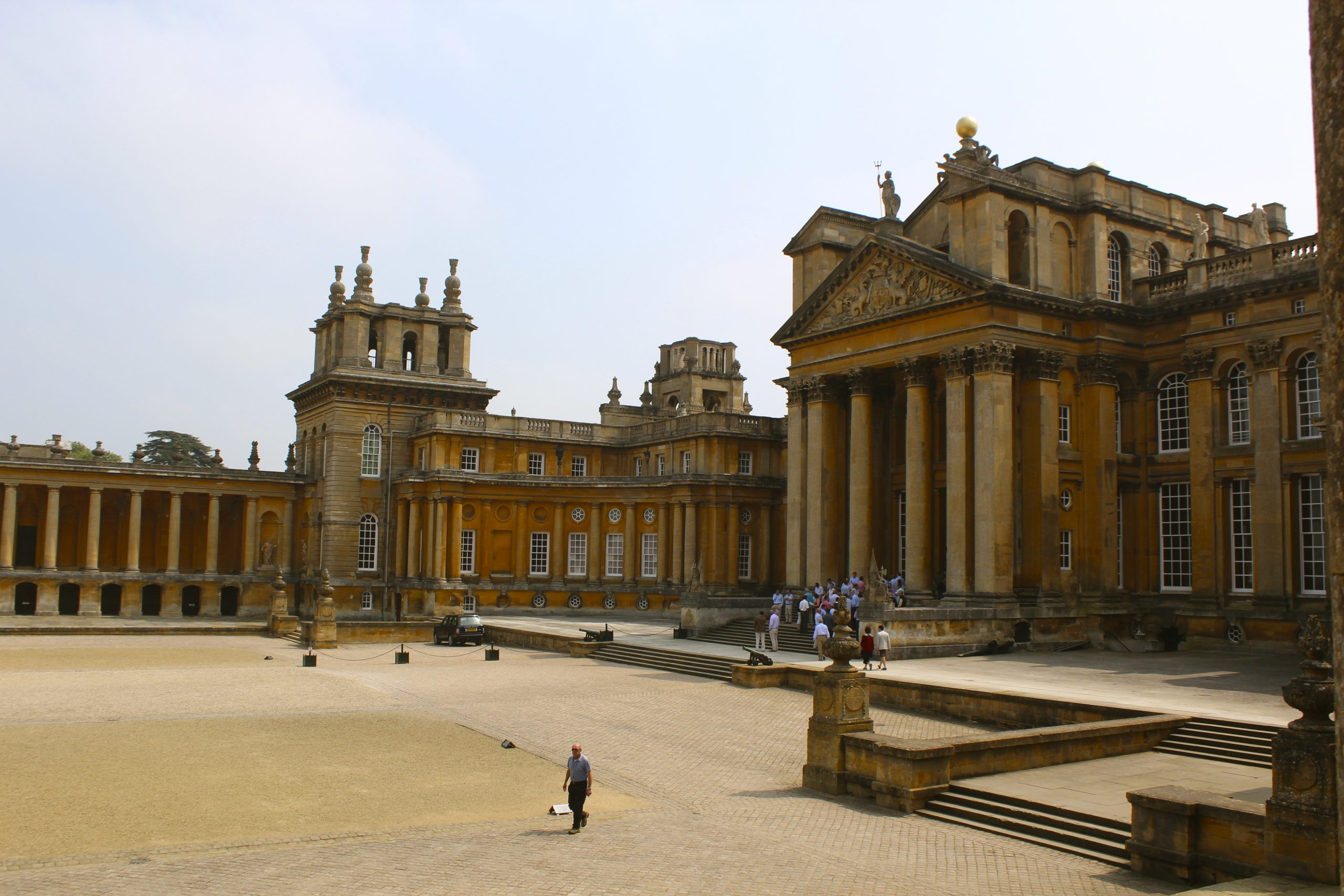 Great british houses blenheim palace everything you for Blenheim builders