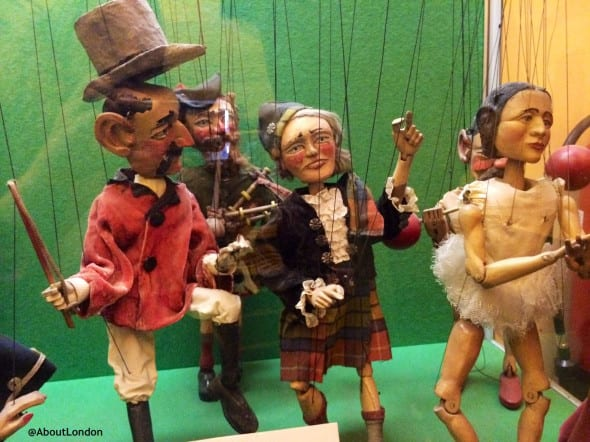 Puppets at the Museum of Childhood