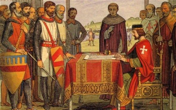 'Signing' Magna Carta - Was Actually Sealed