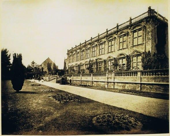 Garden Front 1860