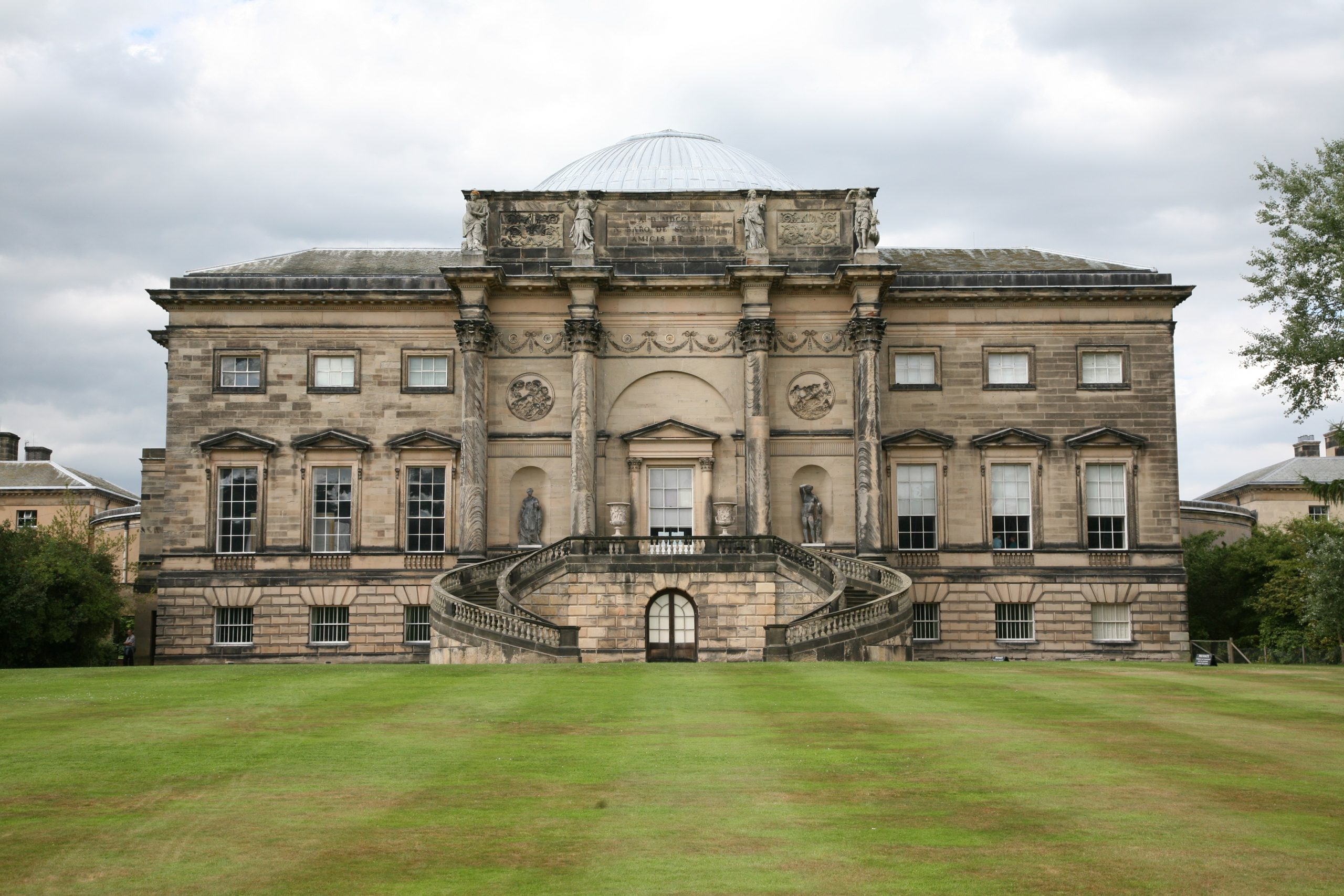 Manor House Floor Plan Great British Houses Kedleston Hall The Temple Of The