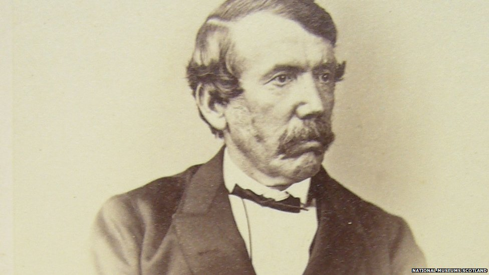 _64227476_carte_de_visit. David Livingstone ...  Dr Livingstone I Presume Book