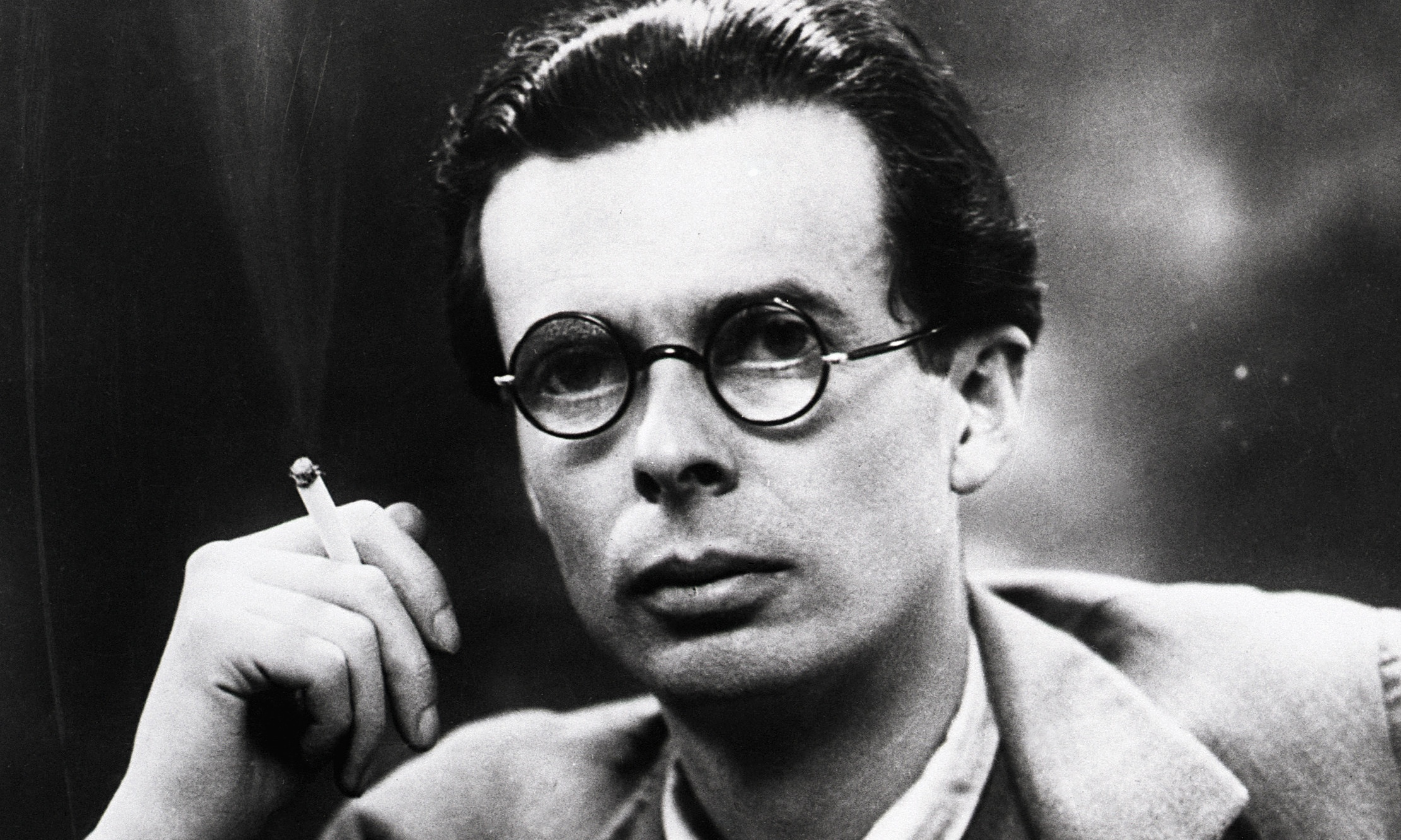 great britons aldous huxley author of brave new world a huxley