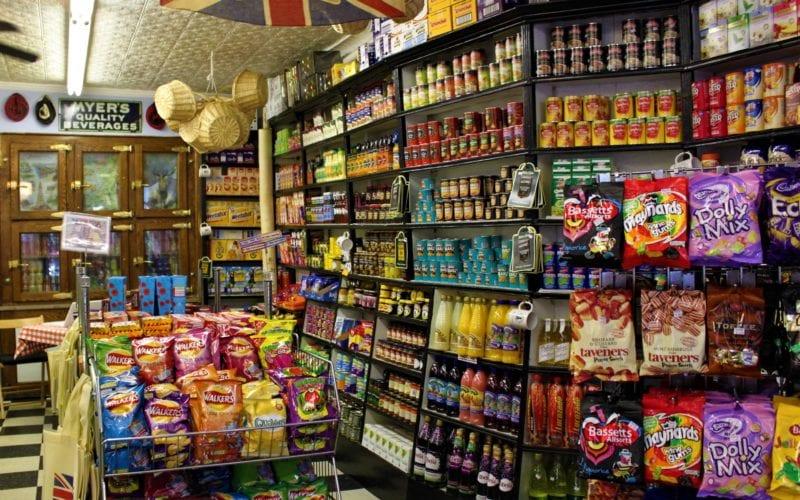 Myers of Keswick British food selection