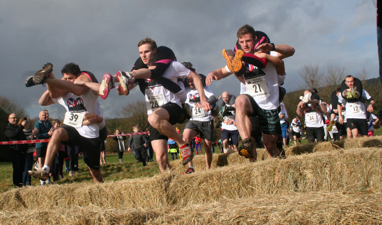 UK Wife Carrying Race